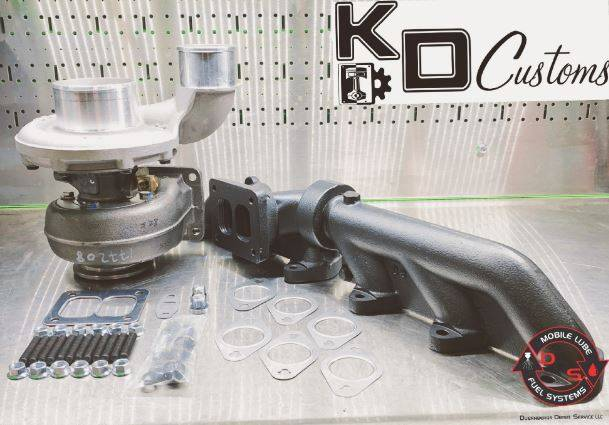 KD Customs - 2003-2018 Cummins T4 S366 Kit