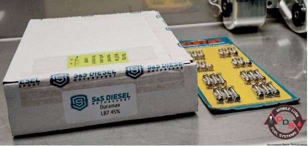 S&S Diesel Motorsports - S&S Duramax 45% Over SAC Injectors **NEW** With ARP 6 Point Stainless Steel Valve Cover Bolts