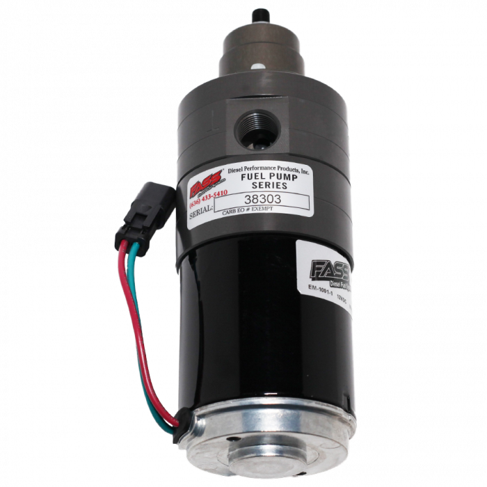 FASS Fuel Systems - FASS Fuel Systems FA D08 260G Adjustable Fuel Pump 1998.5-2004.5 Cummins