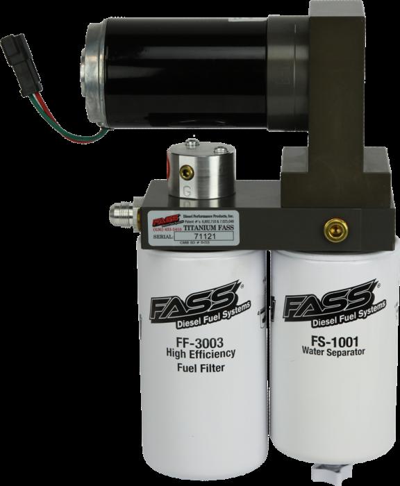 FASS Fuel Systems - FASS Fuel Systems T C10 095G Titanium Fuel Pump 2001-2010 Duramax