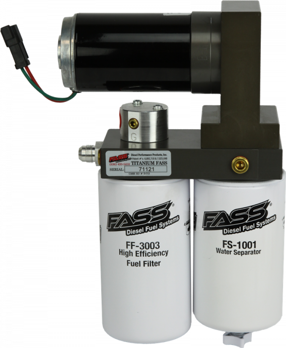 FASS Fuel Systems - FASS Fuel Systems T F17 125G Titanium Fuel Pump - Bypasses Factory Fuel Pump 2011-2016 Powerstroke