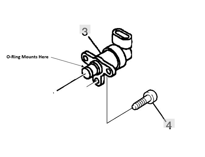 Bosch - Genuine Bosch Fuel Pressure Regulator O-Ring Seal, 2001-2004 GM 6.6L LB7