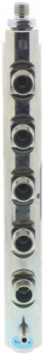 Bosch - Genuine Bosch Driver (L) Side Fuel Rail, 2006-2010 GM 6.6L LBZ/LMM