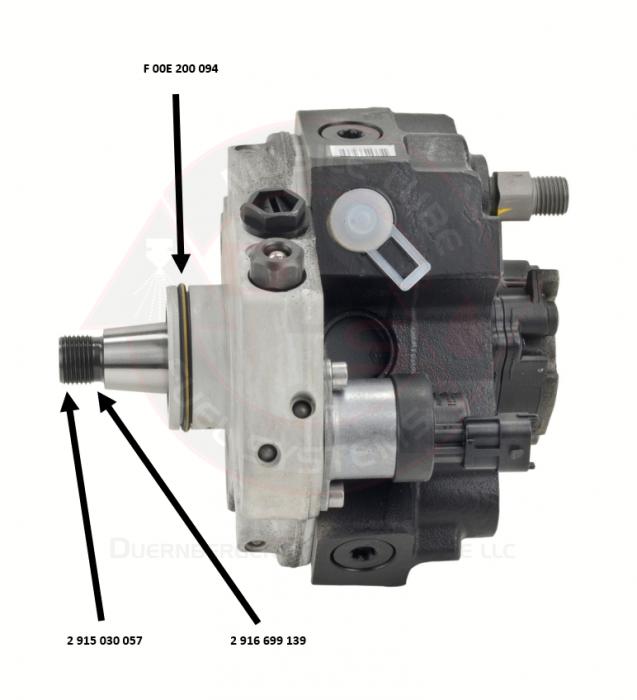 Bosch - Genuine Bosch Injection Pump(CP3) Drive Shaft Nut, 1998.5-2018 5.9L/6.7L Cummins
