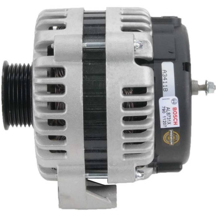 Bosch - Genuine Bosch Alternator, 2001-2002 GM 6.6L LB7