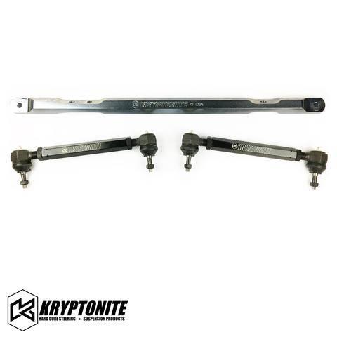 Kryptonite Products - Kryptonite SS Series Center Link & Tie Rod Package, 2001-2010 GM 2500HD/3500HD