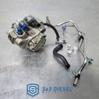 S&S Diesel Motorsports - S&S Diesel 50 State LML CP3 Conversion Kit With - CARB Exempt - With DPF - No Tuning Required, 2011-2016 GM 6.6L LML