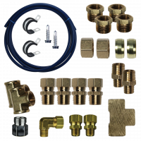 Fuel System & Components - Fuel Lift Pumps & Filtration - FASS Fuel Systems - FASS Fuel Systems FLK-S07 DD15 Complete Fuel Line Kit