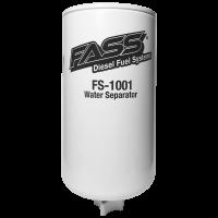 Fuel System & Components - Fuel Lift Pumps & Filtration - FASS Fuel Systems - FASS Fuel Systems FS-1001 Titanium Water Separator (Grey Model)