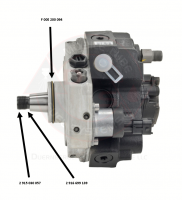 Bosch - Genuine Bosch Injection Pump(CP3/VP44) Drive Shaft Lock Washer, 1998.5-2018 5.9L/6.7L Cummins - Image 2