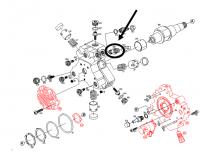 Genuine Bosch High Pressure Pump (CP3) Fitting, 2001-2005 GM 6.6L LB7/LLY